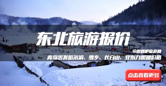 青岛去哈尔滨+亚布力滑雪+雪乡双飞五日游,冰雪总动员 12月青岛去雪乡旅游团2480元起